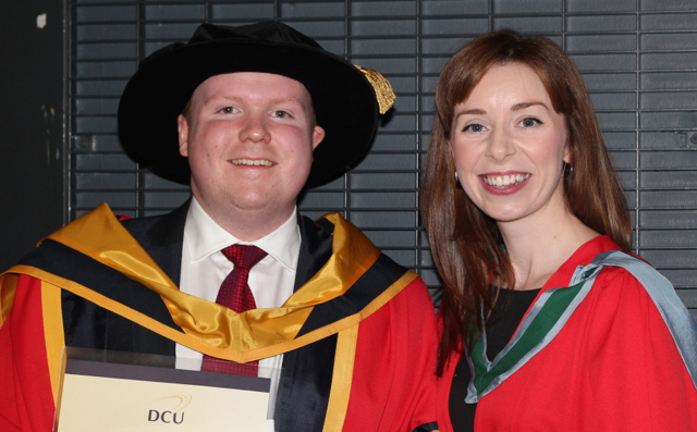 Dr Mark Lynch graduates with his PhD from DCU today the 5th November 2014. Huge congratulations on a job well done !;-)