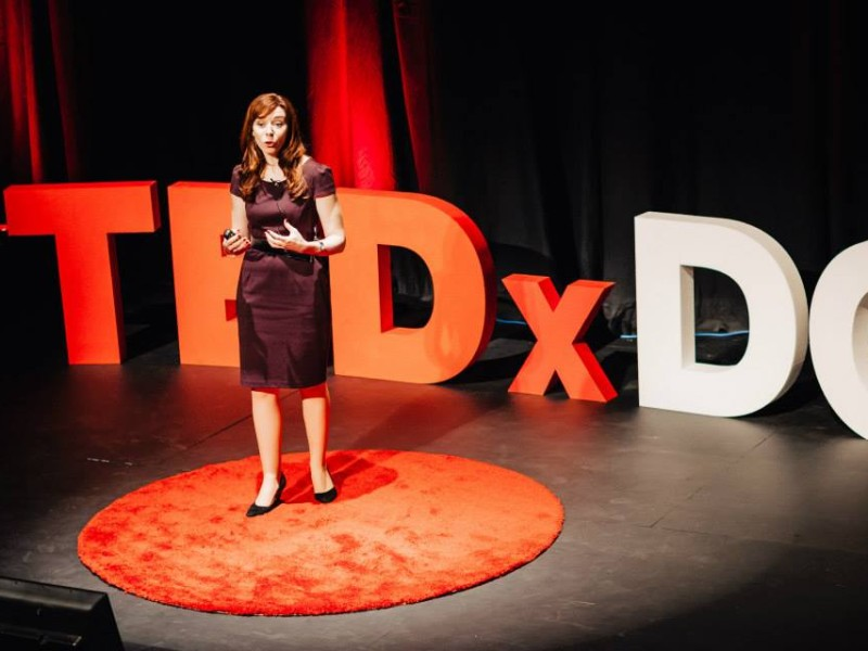 Mary at TEDx DCU